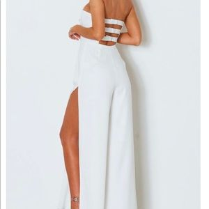 Date To Be Jumpsuit White